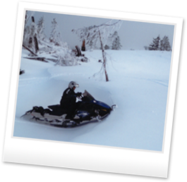 Snow Bike - Snowmobiling BC