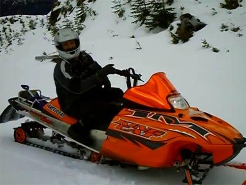 Island Adventure Snowmobile Tours